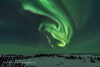 Auroral Swirls in the Northeast (Amazing Sky Photography) Tags: aurora northernlights boreal churchill northernstudiescentre cnsc northeast curtains swirls trees