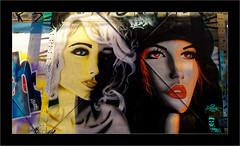Série Espace Darwin - N°13: Portraits de femmes (Jean-Louis DUMAS) Tags: streetart art rue tag darwin street artist artistic artistique peinture murale artiste artdelarue blonde rousse portrait portraiture femme woman girl bordeaux