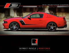 2012 Roush Stage 3 Mustang (aldenjewell) Tags: 2012 roush stage 3 mustang ford brochure