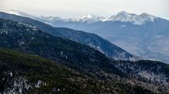 Presidential Range, New Hampshire, from Mount Moriah (jtr27) Tags: dscf6792xl jtr27 fuji fujifilm xe2s xe2 xtrans xf 1855mm f284 rlmois kitlens kitzoom presidential range newhampshire nh newengland winter hike hiking whitemountains