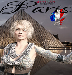 TMV///Exclusive : TYARA in Paris (TMV/// Top Model Virtual 2016) Tags: tmv mode model top super 3d game jeux daz daz3d daz3dgame magazine secondlife second life sims blonde girl fille 2017 2018 fashion avatar avi avs photo pics texte panneau portrait chaussure world gamer market france usa japan russia spain australia england germany brazil portugal pictures vr hdri tyara stephane garcia illustration paris