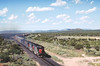 SP 9392 West near Corona, NM July 3, 1988 (blupenny99) Tags: trains railroads sp espee southernpacificrr coronanm newmexico