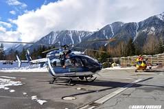 EC-145 Dragon 74 F-ZBPG / EC-145 Choucas 74 F-MJBK (damienfournier18) Tags: hélicoptère secours secourshéliporté sécuritécivile choucas dragon chamonix dzdesbois savoie alpes montblanc montagne aviation aéronef aeronautique