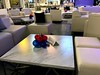 Centerpieces (PartiLife) Tags: backdrop organicwall red blue nygiants superbowl superbowlparty centerpieces sports football