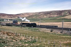 172 42125 Beattock Summit 28-05-66 (John Boyes)  173 (Ernies Railway Archive) Tags: beattockstation beattockbank cr lms scotrail