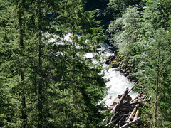 Nooksack River at Mt. Baker-Snoqualmie NF in WA (Landscapes in The West) Tags: mountbakersnoqualmienationalforest northcascadesnationalpark washington nooksackriver