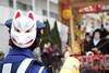 IMG_8497 (sshonai) Tags: 初午 お稲荷さん 東京 日本 八王子 子安神社 狐 着物 祭り japan tokyo hachioji inari hatsuuma shrine fox wear mask