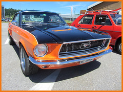 Ford Mustang, 1968 (v8dub) Tags: ford mustang 1968 schweiz suisse switzerland langenthal american muscle pkw pony voiture car wagen worldcars auto automobile automotive old oldtimer oldcar klassik classic collector