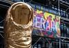 César & Derain Centre G.Pompidou (Panoussiadis.) Tags: paris césar beaubourg