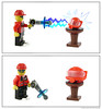 The Unshrink Ray (Unijob) Tags: lego leg godt banbao knockoff brand comic laser gun minifig minifigures figures figure brick bricks toy toys segment webcomic fun funny red engineer enginerd goggles face head helmet exploriens explorien ferrari table furniture towball ball shrink unshrink ray honey shrunk kids person white brown technique thunder electricity moc own creation visor unijob lindo