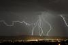 Lightning over the Tidbinbilla Range (~Jek~) Tags: lightning storm stormyweather stormclouds australia aus australiancapitalterritory act tuggeranong chisholm
