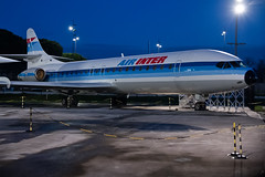Air Inter Caravelle (Paul Rowbotham) Tags: caravelle airinter tls ce210 fbtoe