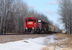 CP 3013 @ Henriette (Matt Hagfors) Tags: electromotivedivision emd manifest gp38ac canadianpacific