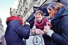 2018-02-17  Paris - Chacun ses goûts -Yogurt glacé - 20 rue Montorgueil (P.K. - Paris) Tags: paris février 2018 february people candid street