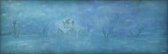LUANES WORLD PHOTO CONTEST - Fairy Lights (Ursula Floresby...Kidnapped By RL) Tags: slart sllandscape secondlife landscape imaginarylandscape luanesmagicalworld luanemeo luanesworld winter blue light magic fairy textured texture snow sky tree