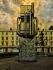 The Ventilation Tower (Steve Taylor (Photography)) Tags: ventilationtower sculpture pimlico tube station underground 1982 eduardopaolozzi art digital architecture relief metal uk gb england greatbritain unitedkingdom london texture
