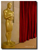 Oscar next to a red curtain (Elliott Cowand) Tags: theacademyawards hollywoodblvd hollywoodboulevard oscar theoscars movies awards hollywood hollywoodwalkoffame film motionpictures losangeles tinseltown california unitedstates moviestars celebrities elliottcowand elliottcowandyahoocom gold actors copyright allrightsreserved academyofmotionpictureartsandsciences ceremony theredcarpet theoscarstatue thedolbytheatre television