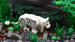 The White Tiger (Ayrlego) Tags: lego brethrenofthebrickseas bobs whitetiger celestia challengeieraii sirdirkallcock
