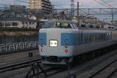 During a break (kuyu-peach) Tags: 105mmf14 2017 afsnikkor105mmf14eed dslr evening fx fullframe japanesetrain nikon nikond750 outofservice prime railway train