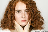Sweet redhead (Alessandro Guidi 1985) Tags: alessandroguidifotografo photo photography studio shooting light portrait face model girl teen young woman beauty beautiful glam glamour eyes freckles red hair redhead curly mouth cute sweet white shy