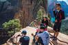 Hikes Reprieve (twinblade_sakai340) Tags: adventure angel fun hike hiker hiking landing landscape mountain mountains national nature outdoor outdoors park slot utah wall zion