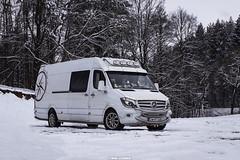 Mercedes-Benz Sprinter 316 CDI -  PTP-Trans - Tomasz Pernak Transport (PL) (Michał Szczerbowski) Tags: mercedesbenz sprinter 316 cdi ptptrans tomasz pernak transport dostawczy tuning spotkanie zima