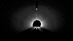 At the end of the Tunnel.jpg (___INFINITY___) Tags: 1740 6d aberdeen bw godoxad360 canon canon1740f4 darrenwright dazza1040 eos flash infinity light lightpainting me night selfie silloutte strobist