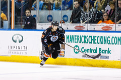 "Kansas City Mavericks vs. Toledo Walleye, January 20, 2018, Silverstein Eye Centers Arena, Independence, Missouri.  Photo: © John Howe / Howe Creative Photography, all rights reserved 2018. • <a style=""font-size:0.8em;"" href=""http://www.flickr.com/photos/134016632@N02/25966333738/"" target=""_blank"">View on Flickr</a>"
