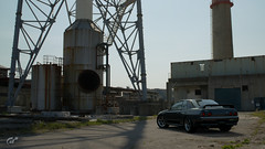 R32 Abandoned Factory (jandengel) Tags: granturismo gt gts car scapes game ps4 polyphony nissan skyline r32 gtr bnr32 jdm abandoned lost place lostplace factory