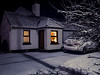 Get in out of that cold (cogy) Tags: cottage house night evening warmth cold snow shelter winter freezing frozen