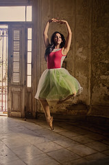 Wendy 2 (Artypixall) Tags: cuba havana ballerina youngwoman posing dancing interior mansion
