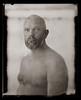 .. (biancavanderwerf) Tags: new55 analoog analog analogue largeformat polaroid naked nude man bold blackandwhite bw portrait portraiture
