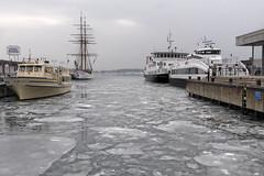 Winter in Oslo, Norway (Ingunn Eriksen) Tags: winter ice frost oslofiord oslofjorden oslo norway boat nikon nikond750