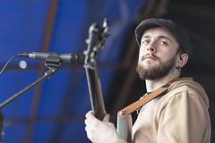 Blues (Frank Fullard) Tags: frankfullard fullard guitar blues bbking music musiciab guitarist candid street portrait ballinasloe fair horsefair entertainer galway irish ireland colour color beard cap headgear