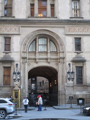 Dakota Apartment Building Entrance Gate Central Park West 7133 (Brechtbug) Tags: the dakota apartment building central park west nyc 72nd street exterior view february 02182018 2018 new york city rooftop above american indian built 1881 art architecture former home john lennon current apartments yoko ono featured predictable but dread filled horror film rosemarys baby 1968 movie director roman polanski