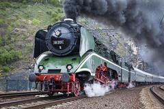 Loko 18 201 (tamson66) Tags: locomotive steam 18201 vintage trainspotting railroad railway