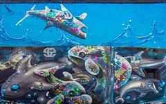 Graffiti art (Saioa Elizondo) Tags: graffiti tokina 16mm arte art painting wallart nikon nikon7200 nikonflickraward nikonphotography grafiti london bricklane