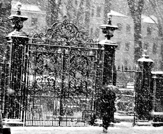 St James's church gates Piccadilly London 28/02/18.