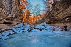 Breathtaking Beauty (kendoman26) Tags: hdr nikhdrefexpro2 niksoftware nikon nikond7100 tokinaatx1228prodx tokina tokina1228 winter starvedrock starvedrockstatepark travelillinois enjoyillinois lasallecanyon