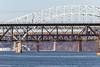 18-149 (George Hamlin) Tags: maryland susquehanna river bridge havre de grace railroad freight train csx autoracks eastbound water sky highway us 40 i95 photo decor george hamlin photography