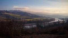 Colline piacentine (Ale*66*) Tags: hills colline piacenza italy landscape paesaggio luce light bridge ponte