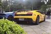 1:1 and 1:43 (DegaspariPhotography) Tags: br brasil brazil carro carros miniatura cars car giallohalys yellow amarelo lp5704 lp570 lp gallardo superleggera lamborghinigallardosuperleggera lamborghinigallardo lamborghini