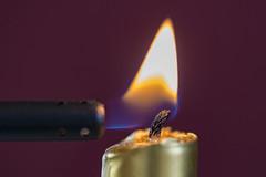 flame macro (Peeb-OK) Tags: candle flame macro nikon tokina stilllife