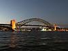 2018 Sydney Harbour Bridge #3 (dominotic) Tags: 2018 sydneyharbourbridgesunset iphone8 sydneyharbour history architecture sydneysummer australianicon sunset bluesky people archbridge maritime ferry water night nsw sydney australia