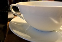 weekly theme: white (annburlingham) Tags: thechallengefactory kitchenstilllife winner tcf teacup saucer white noritake