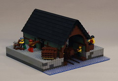 The King's Harbour Boatyards (Beorthan) Tags: kingsharbour corrington lego bobs
