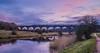 Weaver wanderings (Blaydon52C) Tags: morning light blue pink sky skies pendolino virgin trains train transport westcoast cheshire flickr blues pinks