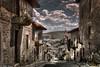 Bajando de la Plaza (Sanabria). (F Arregui.) Tags: pueblo rustico calle piedra nuves mwn