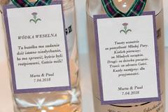 Bottle Decorations our wedding (paulstevenchalmers) Tags: wedding decorations april vodka