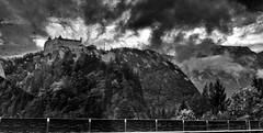 Hohenwerfen (wernerfunk) Tags: einfarbig burg castle autobahn